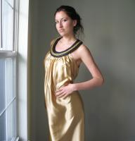 Oh My Gold!!! Cocktail Dress