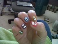 ipod nails <3