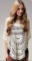Creme Crochet Tunic