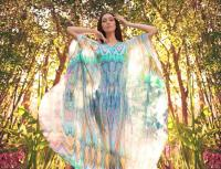 Colin Heaney Renaissance kaftan in georgette silk