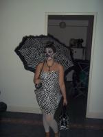 Halloween - the Zebra Look