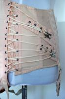 Vintage Open Bottom Boned Fan Lacing Camp Corset