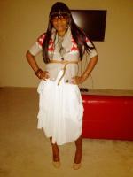 My midi skirt