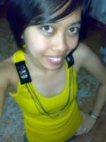 my  gorgeous yellow tank top