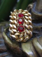 Ruby Zippers Earrings from the 40's