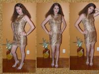 Clubwear lace wiggle Cocktail Party mini shift dress