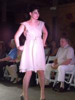 Pink Linen Bow Skirt