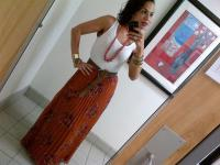 Today's Look: Pleated Maxi Skirt