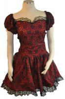 Punk/Goth Lace Dress