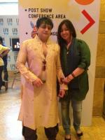Gurubhai Thakkar with wife Khooshi Thakkar