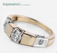 Diamond Ring by Impressimo. Pierscionek Impressimo.