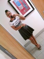 Today's Look: Leather In Summer!