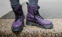 Purple Vintage boots