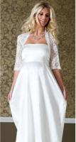 Wedding gowns for pregnant brides