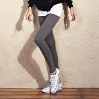 2012 Autumn Grey Elastic Cotton Casual Leggings