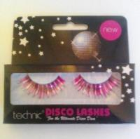 Technic Disco Lashes in Pink/Silver