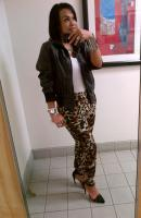 Today's Look: Biker Jacket, Leopard & Jodie!