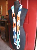 Knit Chain Link Scarf