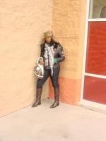 ROCKING MY SCRAF,HAT,AND BOOT ON THE DAY BEFORE SPRING