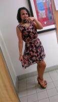 Today's Look: High-Low Florals!
