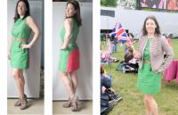 Orignal Annie at the Royal Wedding- fashion for the fashion correspondent