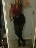red and black night on the town :)