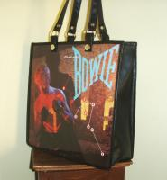 David Bowie Record Album Handbag