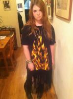 Margiela Flames + Fringe