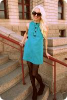 Twiggy Inspired Mod Dress