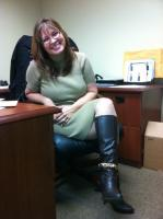 Boot jewelry at work