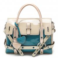 Season's hot trend - colorblocked bag