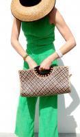 Retro Woven Handbag Clutch