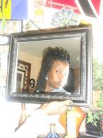 DID MY HAIR WITH YARN