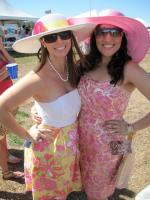 Our sun dresses with floppy hats