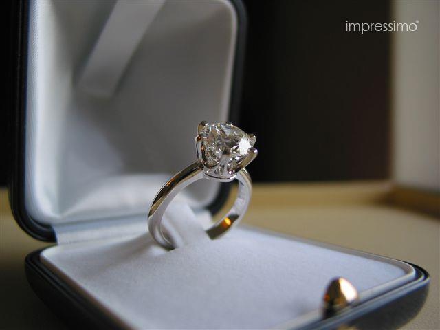 2,5 ct Diamond Ring - handmade by Impressimo