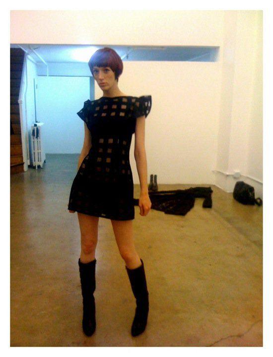 Getting ready for LA Fashion Week kick off party