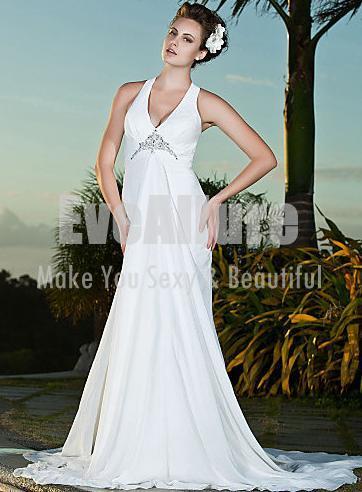 Bridal gowns for beach weddings