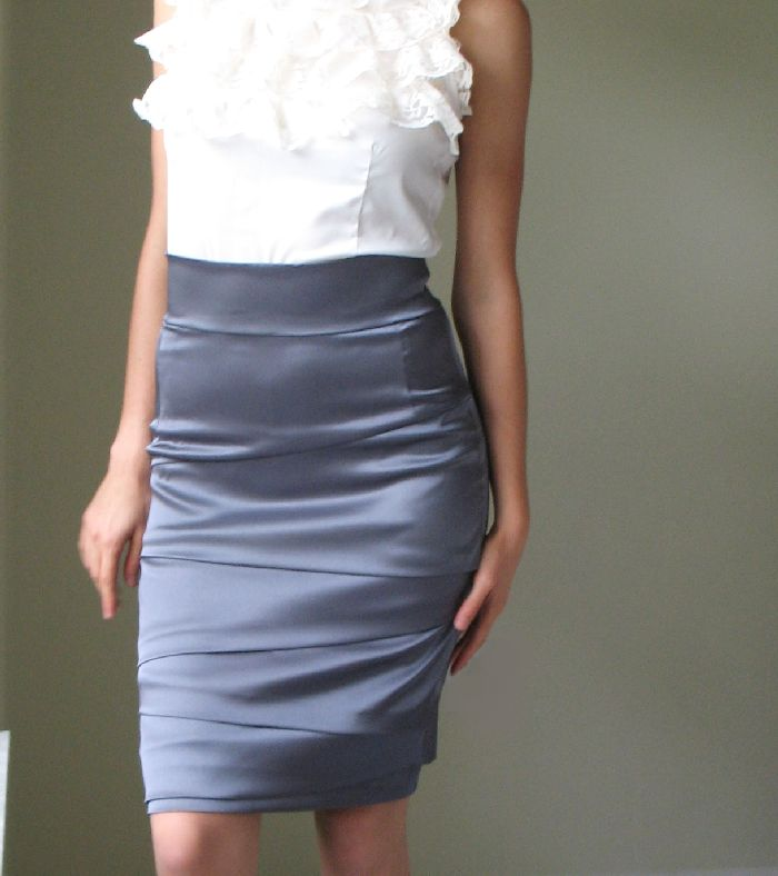 High Waisted Pencil Skirt Uploaded by a fashbo Member