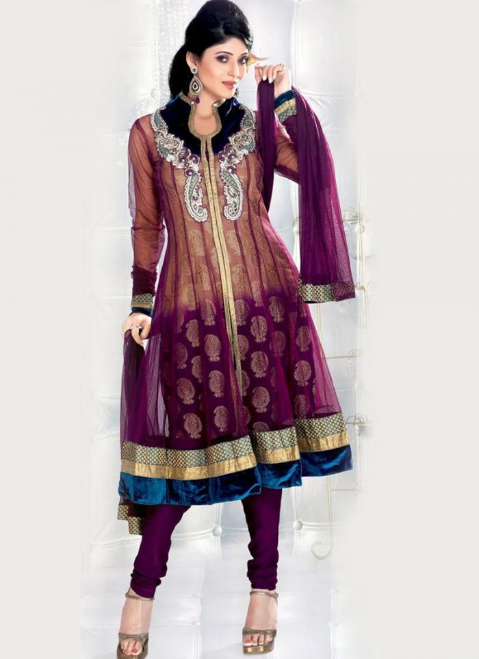 Glamour Touch Designer Wedding Wear Salwar Kameez