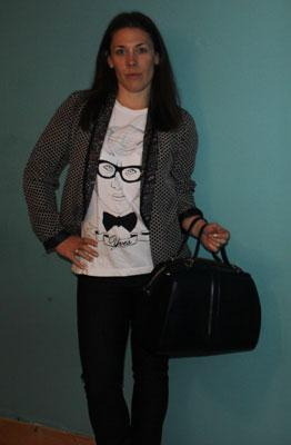 London Fashion Week SS13 - Day 1 Outfit