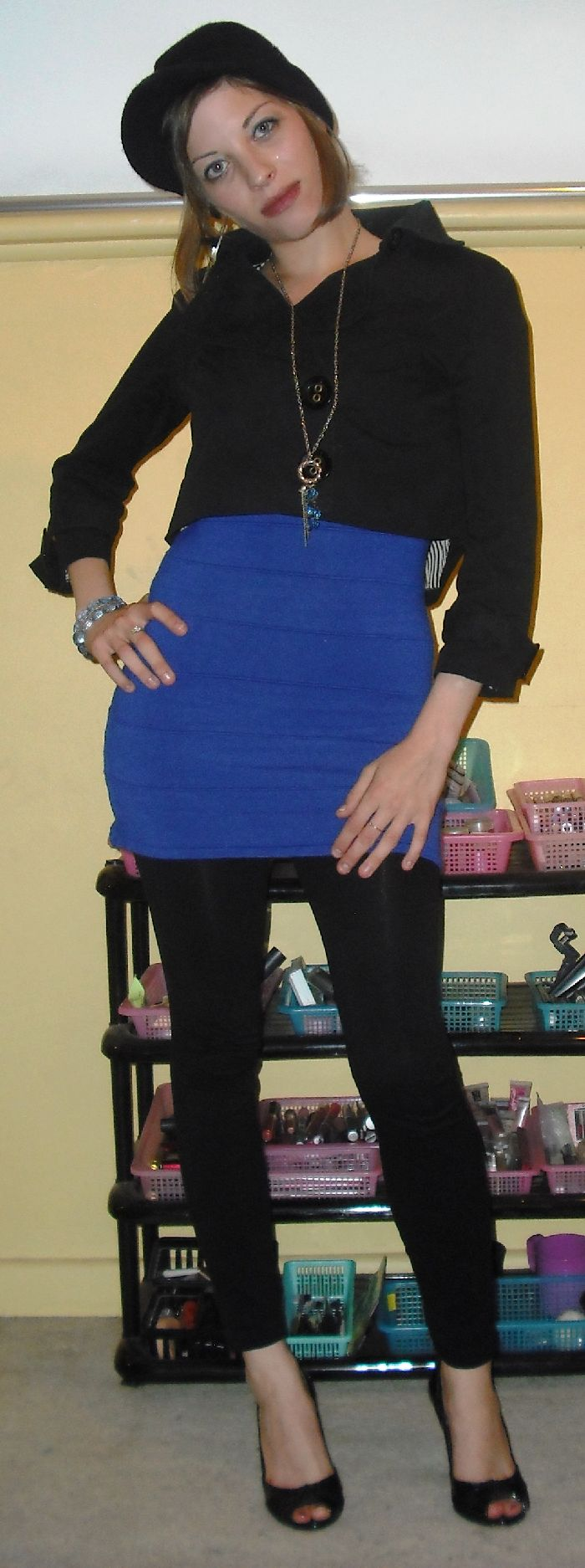 Warming up my Little Blue Dress