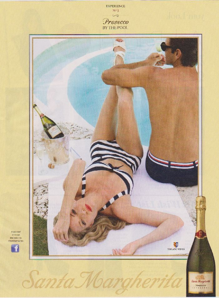 Fashion in Advertising - Awesome Vintage Swimsuit