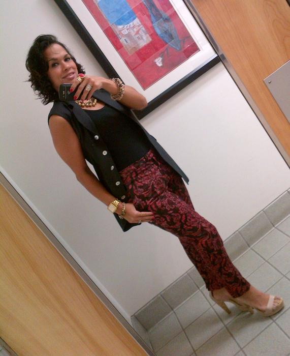 Today's Look: Pre-Fall Printed Pants!