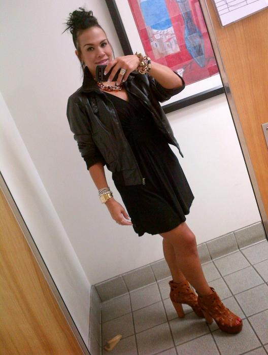 "Today's Look: Transitioning the ""LBD"" in to Fall!"