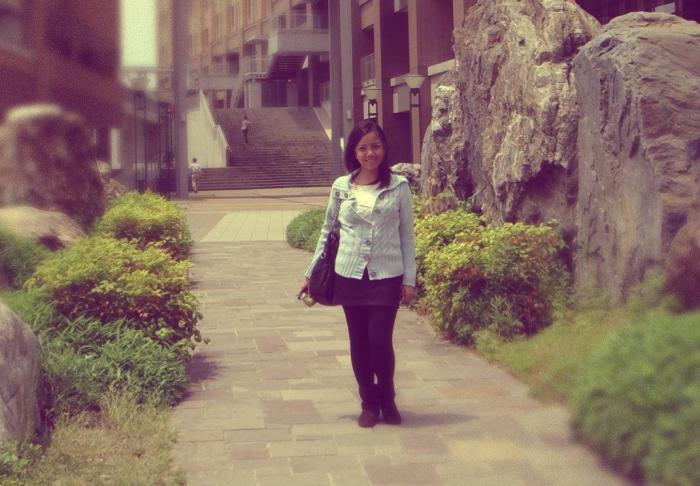 At Kyushu University