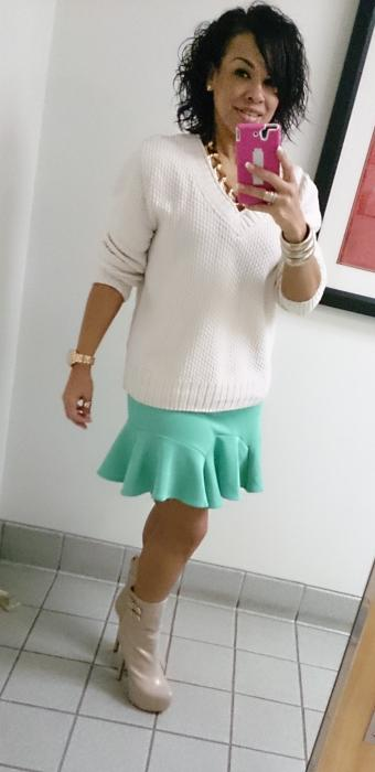 Today's Look: Pastel Colors During Fall!