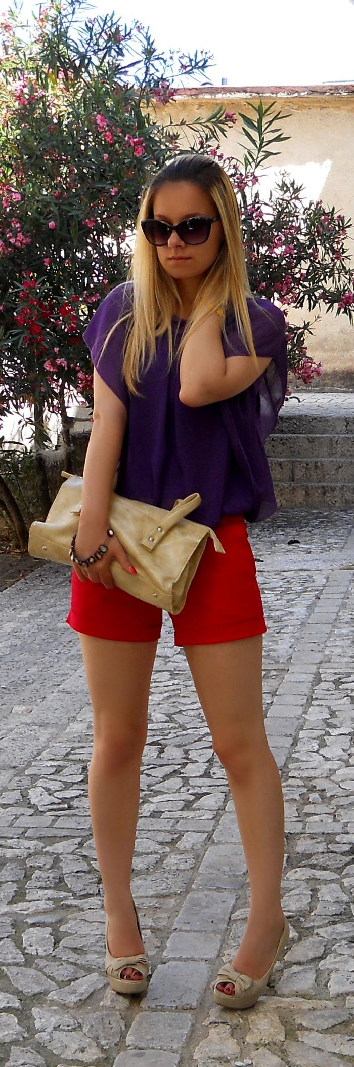violet and red #1