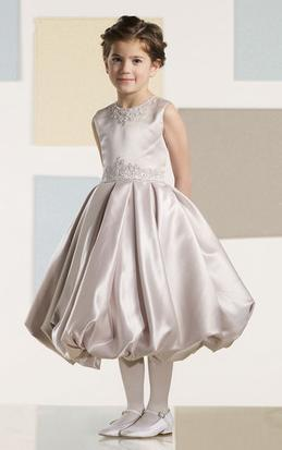 First Communion Dress with Appliques