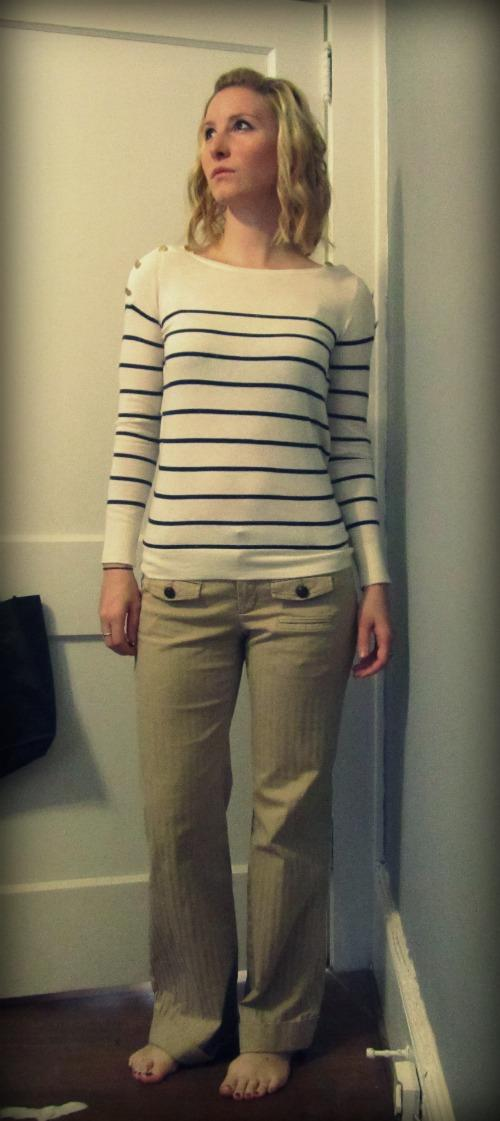 Naval/Boating Themed Outfit