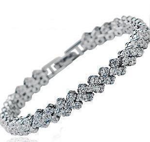 Eveallure.com -Austrian Crystal Bracelet